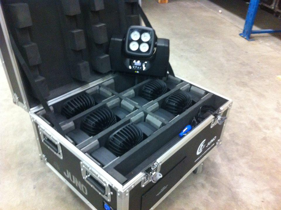 CLF-JUNO set met laadcase geleverd
