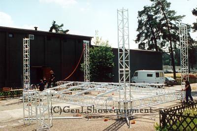 Geluids-set & 60mtr Truss setup