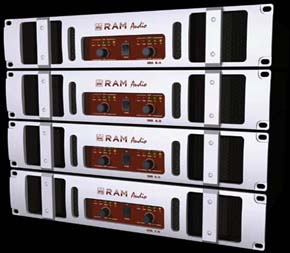 RAM-AUDIO DQL 4.0 amps sets.
