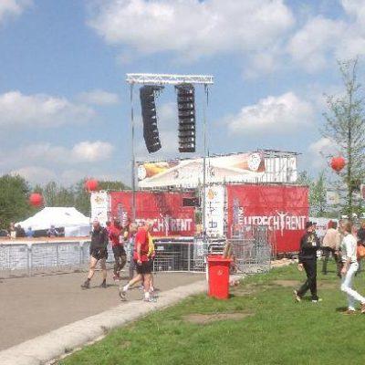 loop van de Leidse Rijn te Utrecht